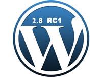 Вышел WordPress 2.8 Release Candidate 1