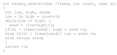Выбираем метод поиска по базе данных