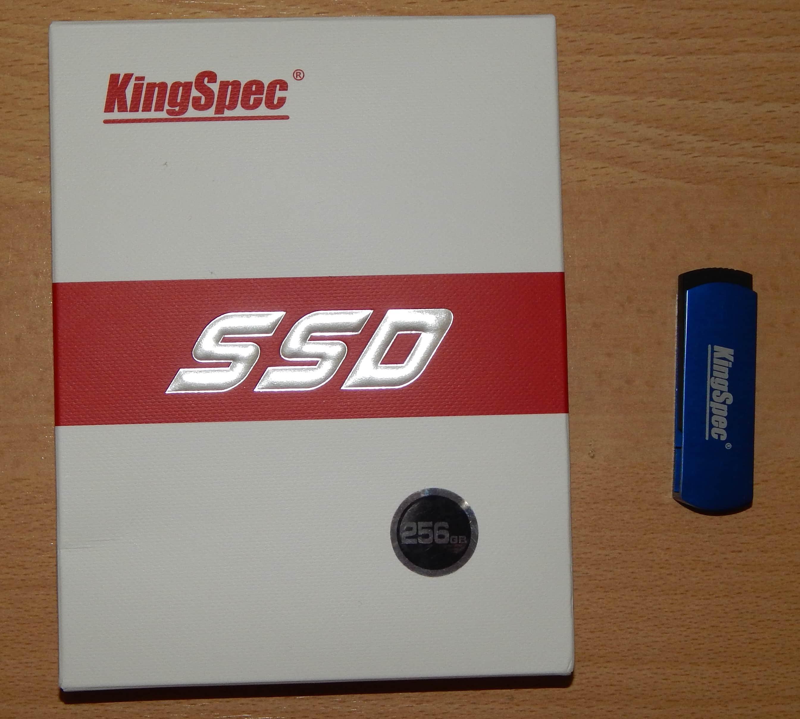 Обзор и тест <b>SSD</b> из Китая на 256 Gb <b>KingSpec</b> ACSC4M256S25 ...