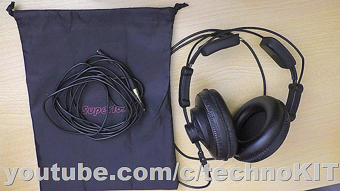 Комплектация Superlux HD668B